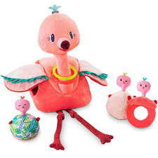 Игровой набор Lilliputiens фламинго Анаис и её птенцы