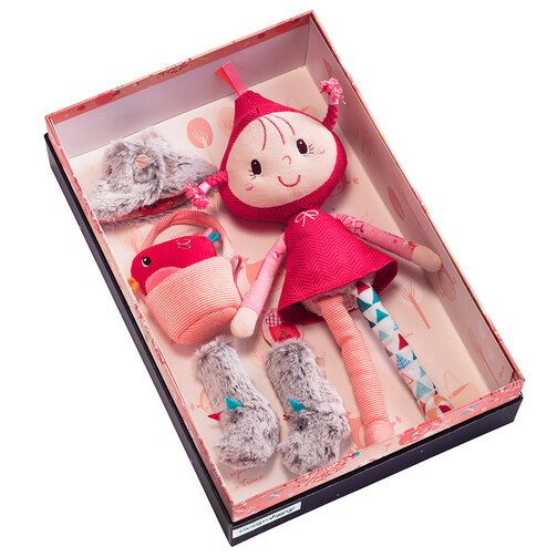 Игрушка Lilliputiens Красная Шапочка в подарочной упаковке  (арт. 83041)