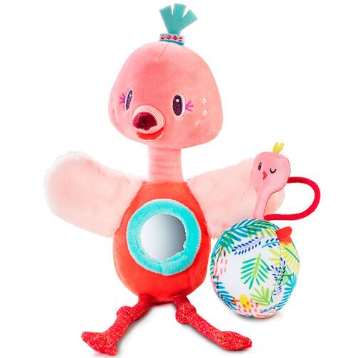Ручна іграшка-брязкальце фламінго Анаїс  (арт. 83056)