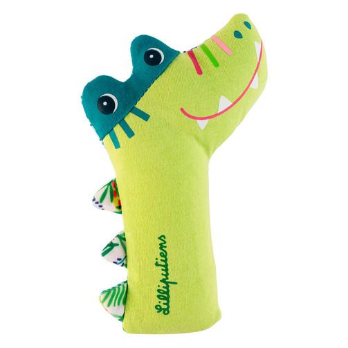Пищалка Lilliputiens крокодил Анатоль  (арт. 83095)