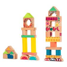 Набор деревянных блоков Lilliputiens Джунгли