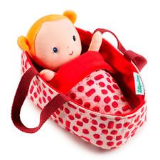 Кукла в люльке Lilliputiens Агата