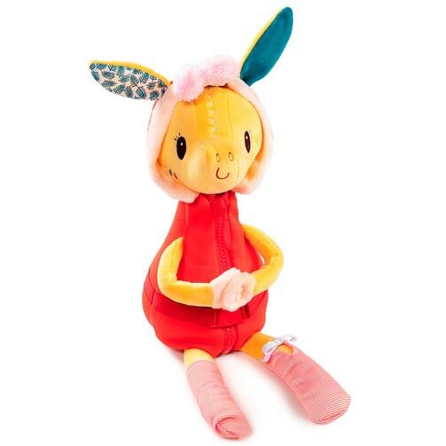 Развивающая игрушка Lilliputiens жирафка Зиа учит одеваться  (арт. 83135)