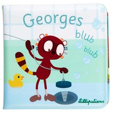 Книга для ванної Lilliputiens лемур Джордж