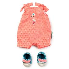 Комбинезон и обувь для куклы Lilliputiens