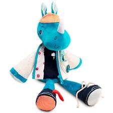 Развивающая игрушка Lilliputiens носорог Мариус учит одеваться