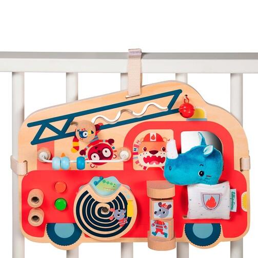 Бизиборд Lilliputiens Пожарная машина  (арт. 83180)
