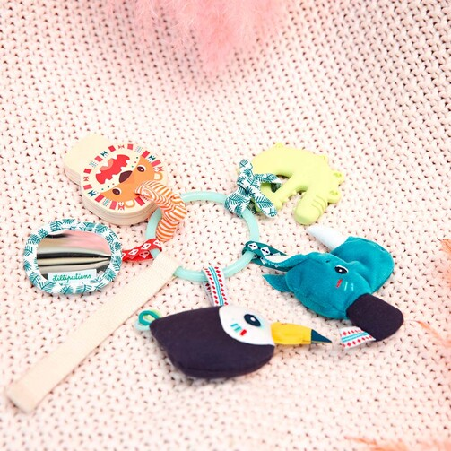 Развивающая игрушка Lilliputiens ключики Джунгли  (арт. 83193)