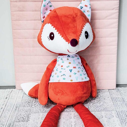 Большая мягкая игрушка Lilliputiens лисичка Алиса  (арт. 83203)