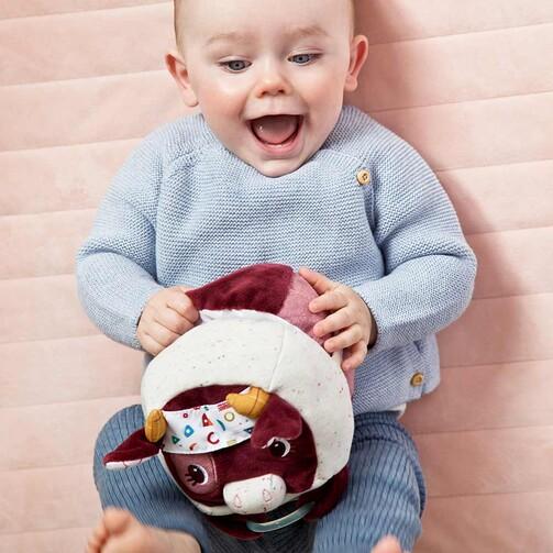 Развивающая игрушка-мяч Lilliputiens коровка Розали  (арт. 83222)
