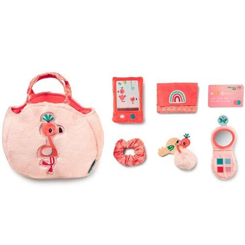 Дитяча сумочка з аксесуарами Lilliputiens фламінго Анаїс  (арт. 83242)