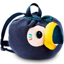 М'який дитячий рюкзак Lilliputiens тукан Пабло