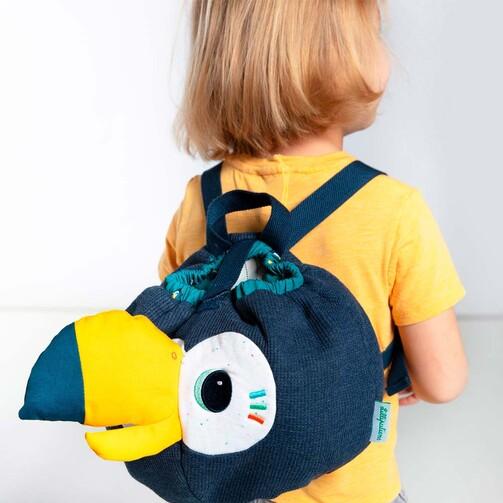 Мягкий детский рюкзак Lilliputiens тукан Пабло  (арт. 84431)