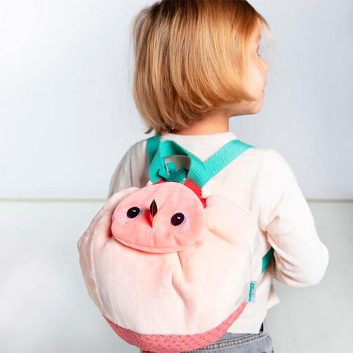 М'який дитячий рюкзак Lilliputiens фламінго Анаїс  (арт. 84432)