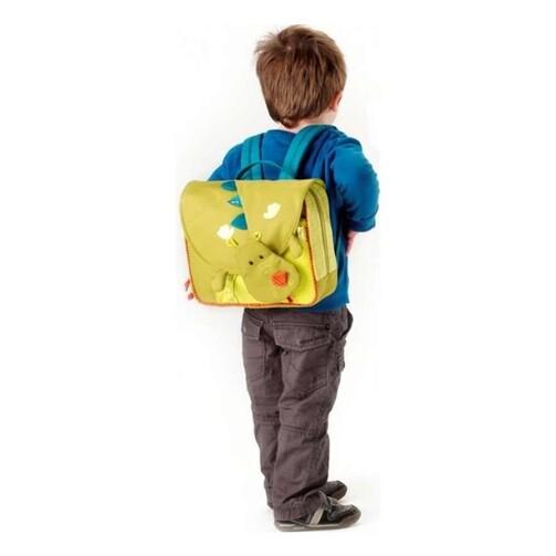 Дошкільний рюкзак Lilliputiens дракон Уолтер  (арт. 86307)