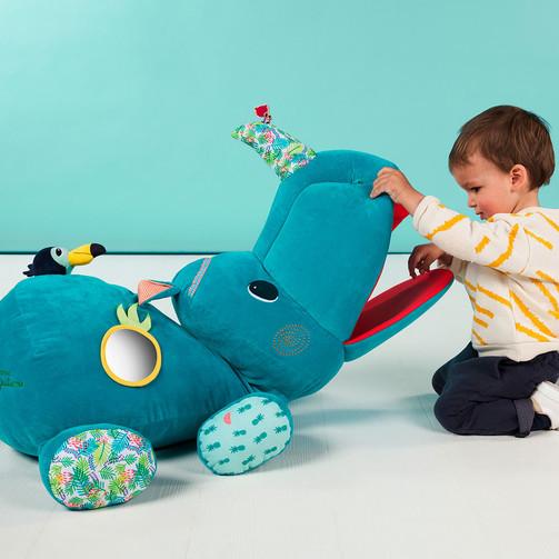 Велика развиваюча іграшка Lilliputiens носоріг Маріус  (арт. 83063)