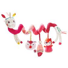 Спиральная игрушка на коляску Lilliputiens единорог Луиза - Спиральная игрушка на коляску Lilliputiens  (арт. 86868)