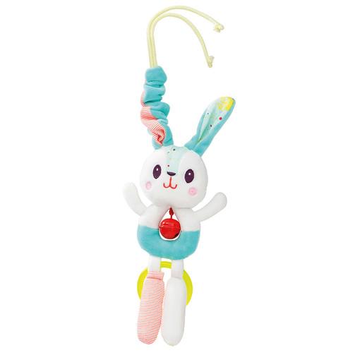 Іграшка на коляску з дзвіночком Lilliputiens Кролик Селестин  (арт. 86857)