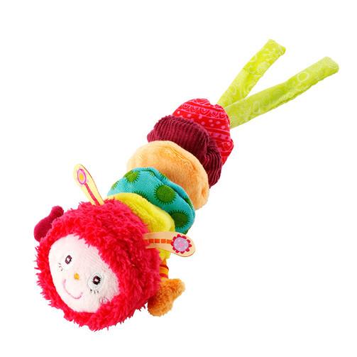 Вибрирующая игрушка Lilliputiens гусеница Джульетта  (арт. 86325)