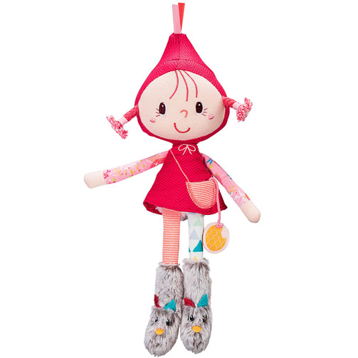 Маленькая кукла Lilliputiens Красная Шапочка  (арт. 83043)