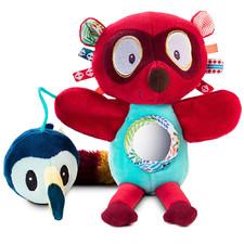 Ручная игрушка-погремушка Lilliputiens лемур Джордж - Ручная игрушка-погремушка Lilliputiens  (арт. 83057)
