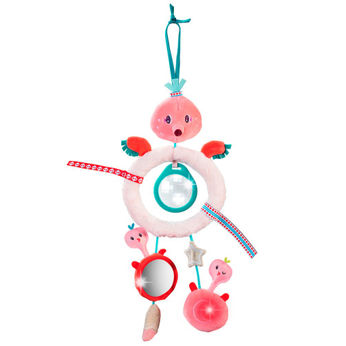 Іграшка на коляску Lilliputiens фламінго Анаїс  (арт. 83068)