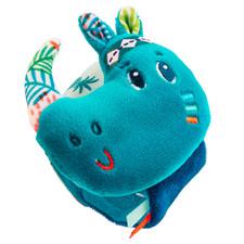 Погремушка-браслет Lilliputiens носорог Маруис