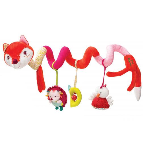 Спиральная игрушка на коляску Lilliputiens лисичка Алиса  (арт. 86709)