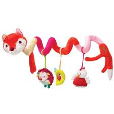 Спиральная игрушка на коляску Lilliputiens лисичка Алиса - Спиральная игрушка на коляску Lilliputiens  (арт. 86709)