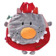 Мягкий детский рюкзак Lilliputiens волк Николас - Мягкий детский рюкзак Lilliputiens  (арт. 86637)