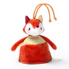 Двусторонняя игрушка-прорезыватель Lilliputiens лисичка Алиса - Двусторонняя игрушка-прорезыватель Lilliputiens  (арт. 86817)