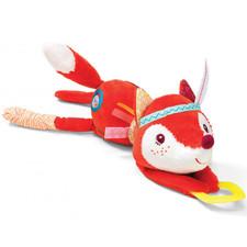 Развивающая игрушка с прорезывателем Lilliputiens лисичка Алиса - Развивающая игрушка с прорезывателем Lilliputiens  (арт. 86710)