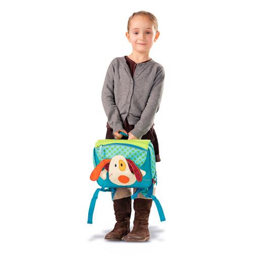 Дошкольный рюкзак Lilliputiens собачка Джеф  (арт. 86357)