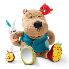 Развивающая игрушка Lilliputiens медведь Цезарь - Развивающая игрушка Lilliputiens  (арт. 86784)