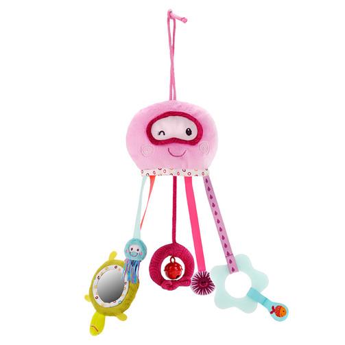 Игрушка на коляску Lilliputiens медуза Амели  (арт. 86567)