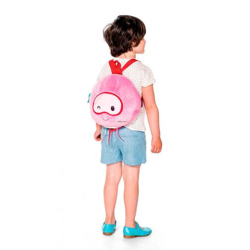 М'який дитячий рюкзак Lilliputiens медуза Амелі  (арт. 86639)