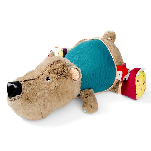 Большая развивающая игрушка Lilliputiens медведь Цезарь  (арт. 86839)