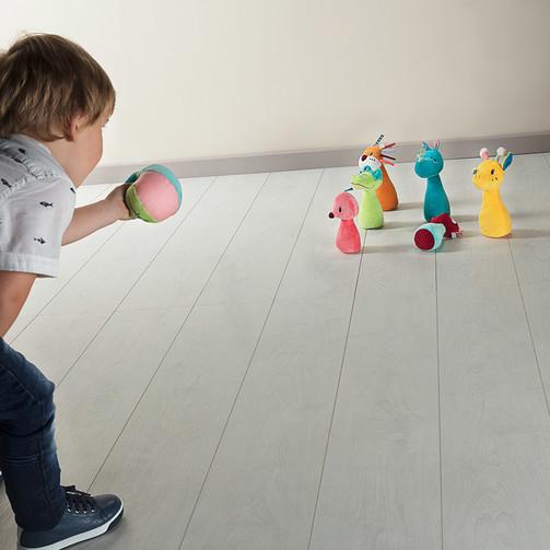 Набір для дитячого боулінгу Lilliputiens Джунглі  (арт. 83019)
