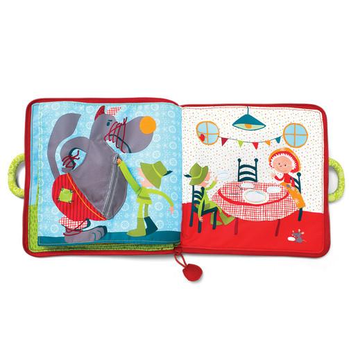 Мягкая книга Lilliputiens Красная шапочка  (арт. 86609)