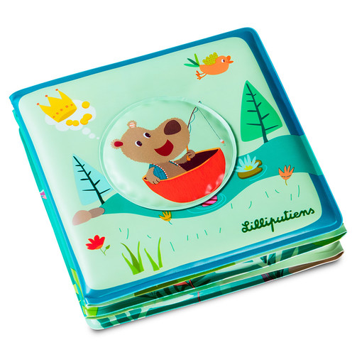 Книга для ванной Lilliputiens Цезарь идет на рыбалку  (арт. 83006)
