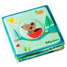 Книга для ванной Lilliputiens Цезарь идет на рыбалку - Книга для ванной Lilliputiens  (арт. 83006)