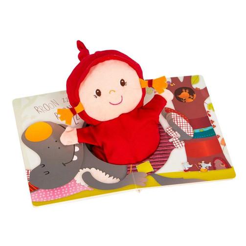 Кукольный театр-книга Lilliputiens Красная Шапочка  (арт. 86460)