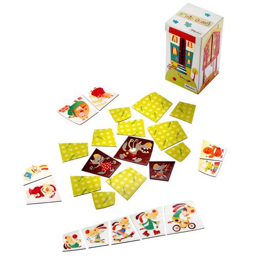 Настольная игра Lilliputiens Семья  (арт. 86436)