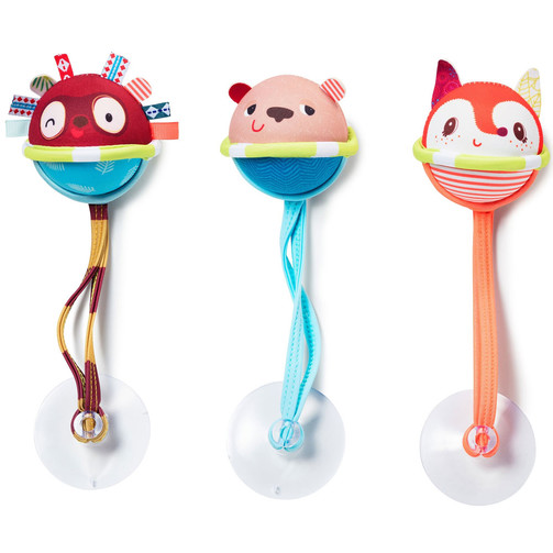 Игрушка для ванной Lilliputiens Три мяча  (арт. 83051)