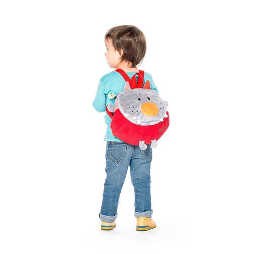 М'який дитячий рюкзак Lilliputiens вовк Ніколас  (арт. 86637)