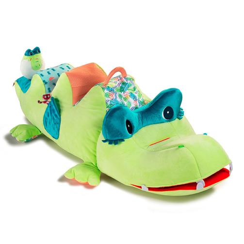Большая развивающая игрушка Lilliputiens крокодил Анатоль  (арт. 83103)
