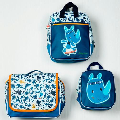 Дошкольный рюкзак Lilliputiens носорог Мариус  (арт. 84410)