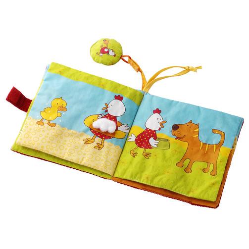 Мягкая книга Lilliputiens Курочка Офелия и компания  (арт. 86056)