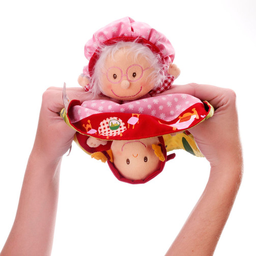Двусторонняя игрушка-сказка Lilliputiens Красная шапочка  (арт. 86158)