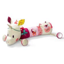 Большая развивающая игрушка-валик Lilliputiens единорог Луиза - Большая развивающая игрушка-валик Lilliputiens  (арт. 86826)